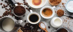 Le café dans tous ses états